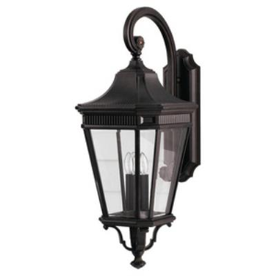 Feiss OL5404GBZ Cotswold Lane - Three Light Outdoor Wall Lantern
