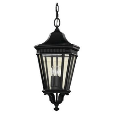 Feiss OL5411BK Cotswold Lane - Three Light Pendant