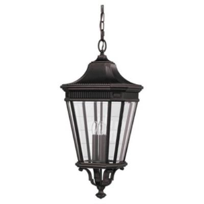 Feiss OL5412GBZ Cotswold Lane - Three Light Pendant