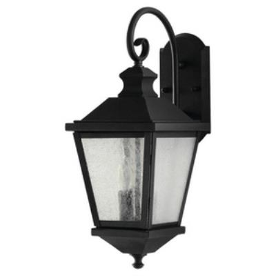 Feiss OL5701BK Woodside Hills - Two Light Outdoor Wall Lantern