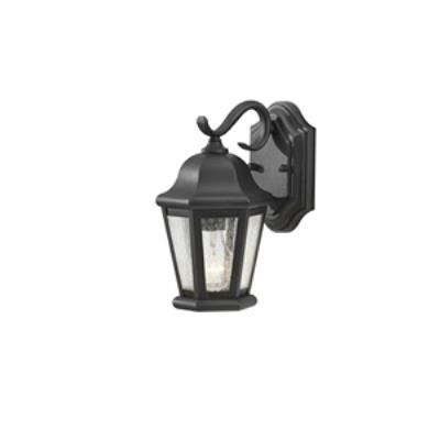 Feiss OL5900BK Martinsville - One Light Outdoor Wall Lantern