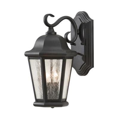 Feiss OL5901BK Martinsville - One Light Outdoor Wall Lantern