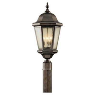 Feiss OL5907CB Martinsville - Three Light Outdoor Post Mount