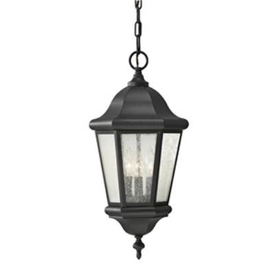 Feiss OL5911BK Martinsville - Three Light Outdoor Hanging Lantern