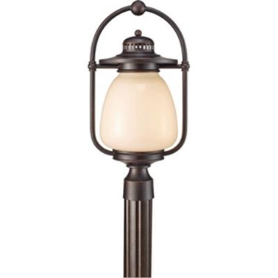 Feiss OLPL7408GBZ Mc Coy - One Light Outdoor Post Lantern