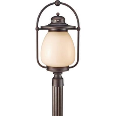 Feiss OLPL7508GBZ Mc Coy - One Light Outdoor Post Lantern