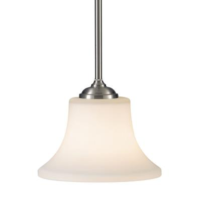 Feiss P1117BS Barrington - One Light Mini-Pendant