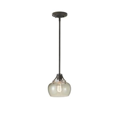 Feiss P1234RI Urban Renewal - One Light Mini-Pendant