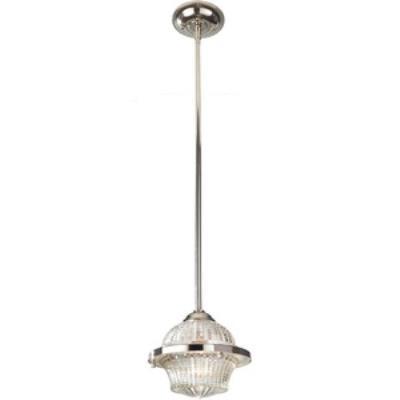 Feiss P1266PN Urban Renewal - One Light Mini-Pendant