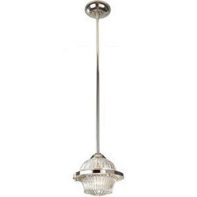 Feiss P1266PN Urban Renewal - One Light Mini-Pendant