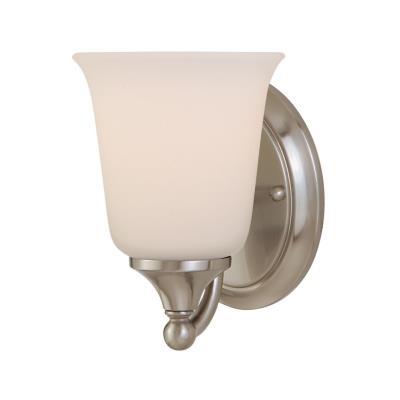 Feiss VS10501-BS Claridge - One Light Bath Vanity