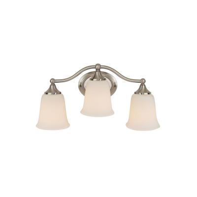 Feiss VS10503-BS Claridge - Three Light Bath Vanity