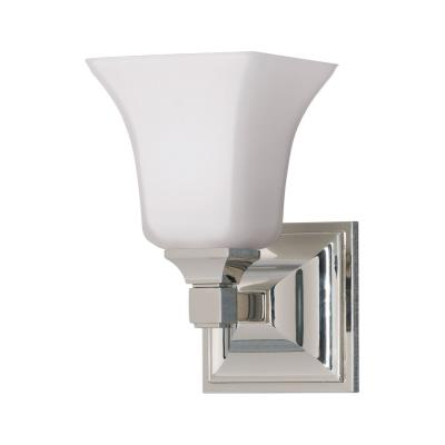 Feiss VS12401-PN American Foursquare Collec1 Light Vanity