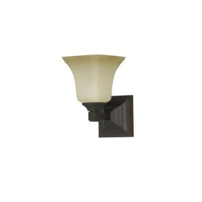 Feiss VS12401-ORB American Foursquare Collec1 Light Vanity