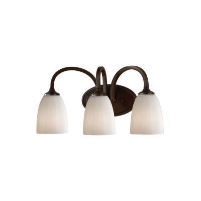 Feiss VS17403-HTBZ Perry - Three Light Bath Vanity Strip