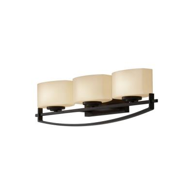 Feiss VS18203-ORB Bleeker Street - Three Light Bath Vanity