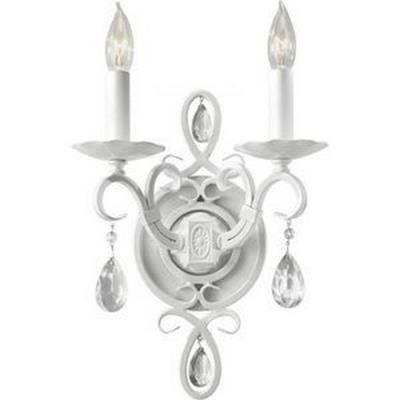 Feiss WB1227SGW Chateau Blanc - Two Light Wall Sconce