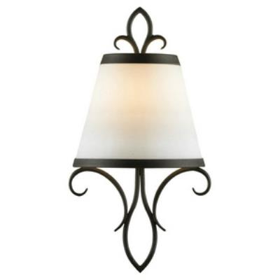 Feiss WB1486BK Peyton - One Light Wall Sconce