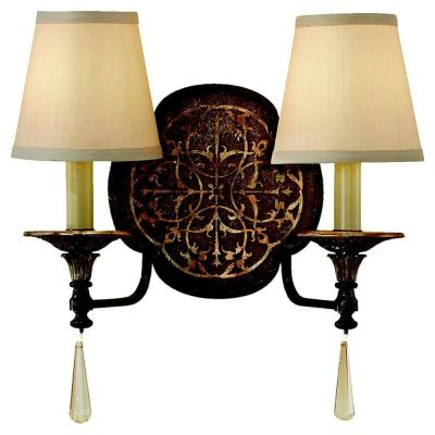 Feiss WB1530BRB/OBZ Marcella - Two Light Wall Sconce