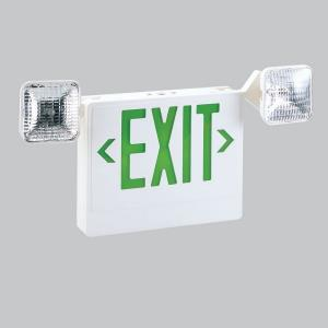 "22.50"" 3.8W LED Salida Face Exit Emergency Light with Adjustable Square Heads"