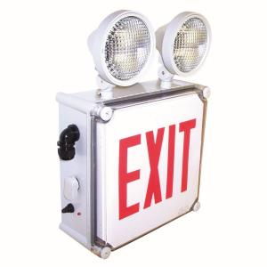 "16.75"" 3.8W LED Exit Emergency Light with Battery Back-up"
