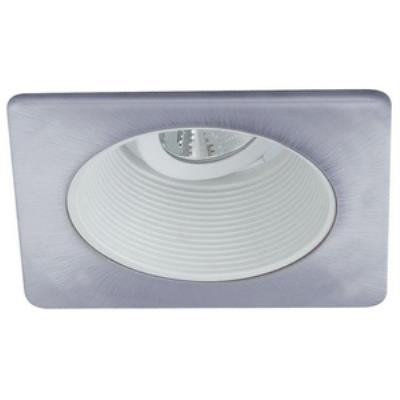 "Nora Lighting NL-4810WN Accessory - 4"" Stepped Baffle with Square Trim"