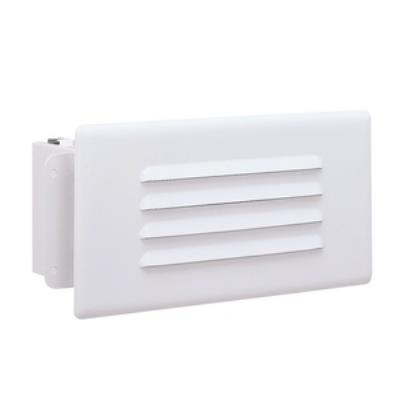 Nora Lighting NSI-1401 One Light Step with Lensed Louver Face