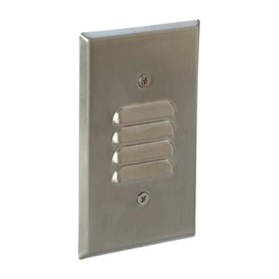 Nora Lighting NSI-161BN One Light Step with Louver