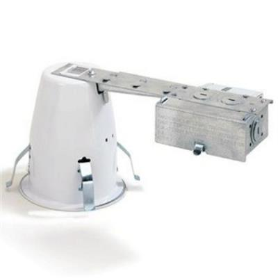 "Nora Lighting NSR-408Q Accessory - 4"" Remodel Housing with Electronic Transformer"