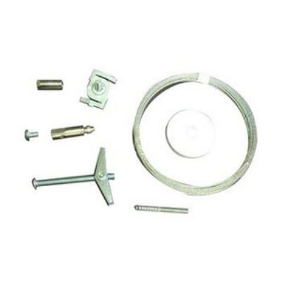 Nora Lighting NT-355/8 Accessory - 8' Cable Suspension Kit