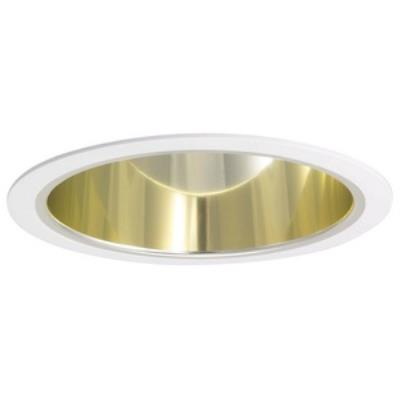 "Nora Lighting NTA-96 Accessory - 6"" Wall Wash Eyelid with Cone Reflector"