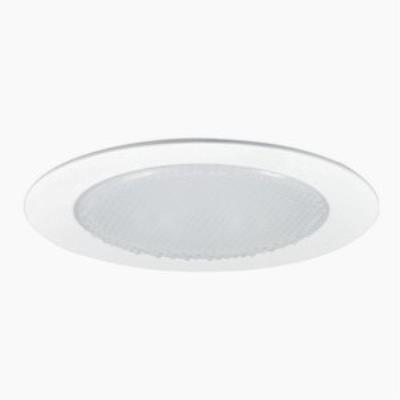 "Nora Lighting NTS-4222W Accessory - 4"" Shower Trim with Cone Reflector"