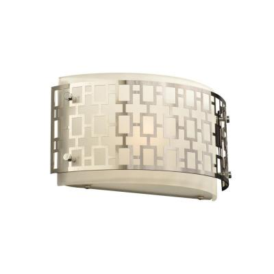PLC Lighting 12153 PC Ethen - One Light Wall Sconce