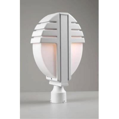 PLC Lighting 1831/CFL Synchro - Two Light Outdoor Post Mount