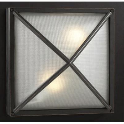 PLC Lighting 31700/CFL Danza - Two Light Outdoor Wall Mount
