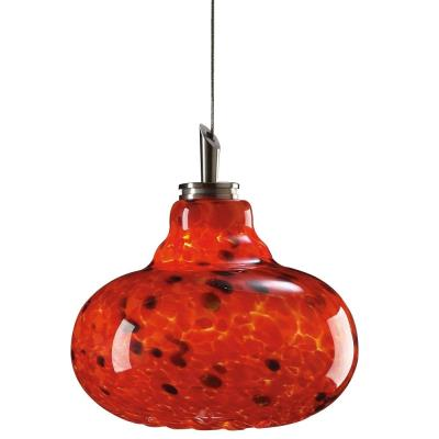 PLC Lighting 349 RED Genie - One Light Mini-Drop Pendant