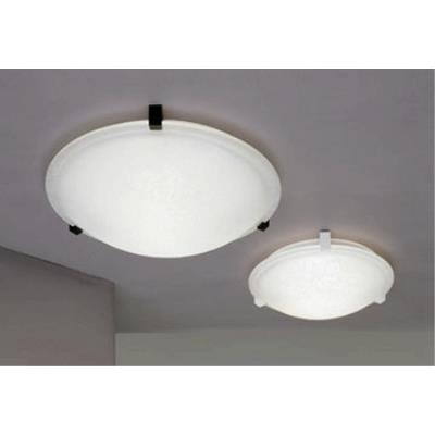 "PLC Lighting 7016 Nuova - 16"" Two Light Flush Mount"