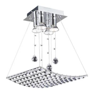 PLC Lighting 72153 Cereus - Four Light Semi-Flush Mount