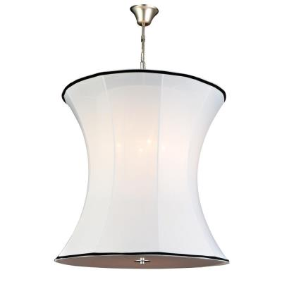 PLC Lighting 73030 WHITE Cooper - Four Light Pendant