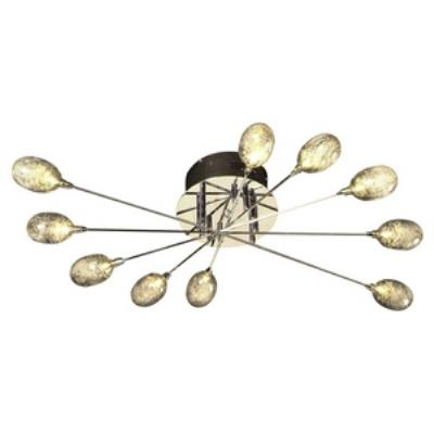 PLC Lighting 86638 Tabitta - Ten Light Flush Mount