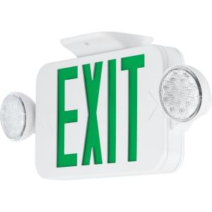 "PECUE - 18"" 3.22W LED Combination Exit/Light"
