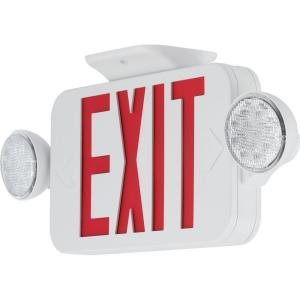 "PECUE - 18"" 4.12W LED Combination Exit/Light"