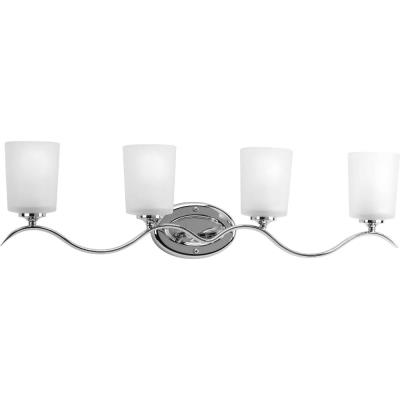 Progress Lighting P2021-15 Inspire - Four Light Bath Bar