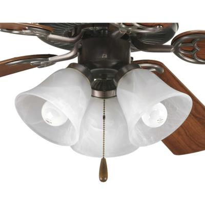 Progress Lighting P2600-20 Accessory - Three Light Ceiling Fan Kit