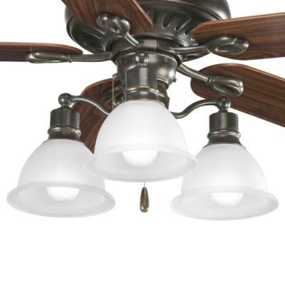 Progress Lighting P2623-20 Madison - Three Light Ceiling Fan Kit