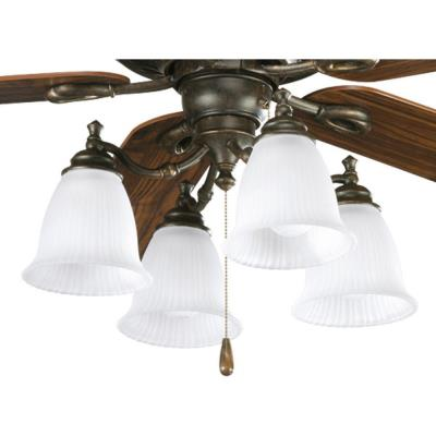 Progress Lighting P2625-77 Renovations - Four Light Ceiling Fan Kit