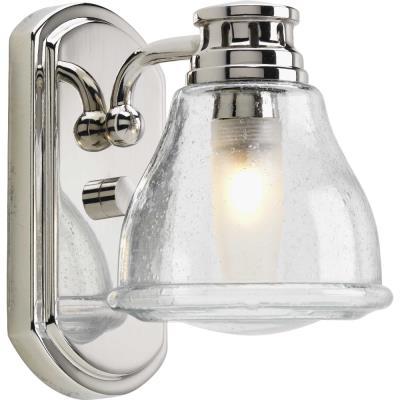 Progress Lighting P2810-15WB Academy - One Light Bath Vanity