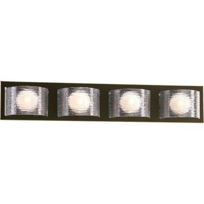 Progress Lighting P2852-20WB Reign - Four Light Bath Bar