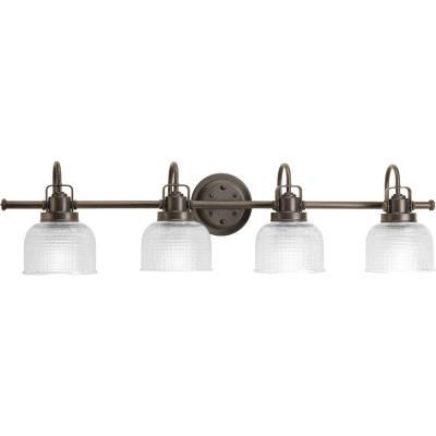 Progress Lighting P2997-74 Archie - Four Light Bath Bar
