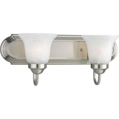 Progress Lighting P3052-09 Builder - Two Light Bath Vanity